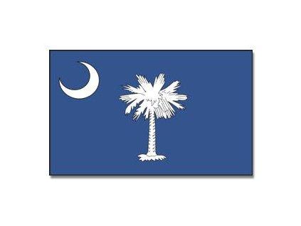 Vlajka Jižní Carolina 90x150cm č.176
