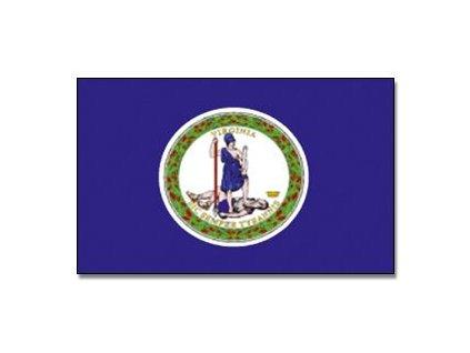 Vlajka Virginia 90x150cm č.181