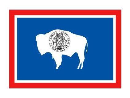 Vlajka Wyoming 90x150cm č.185