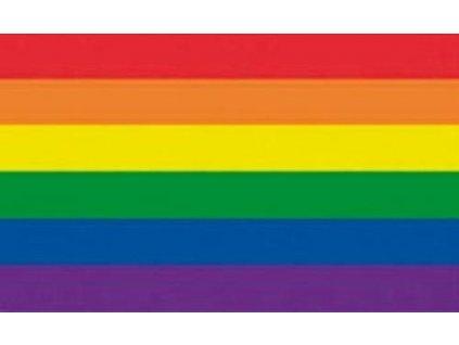 Vlajka RAINBOW 90x150cm č.93