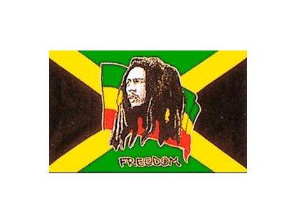 Vlajka 90x150cm Bob Marley č.111