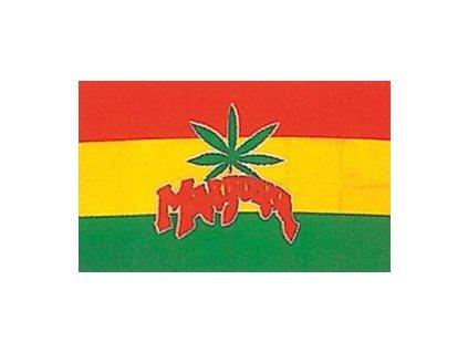 Vlajka 90x150cm Marihuana č.118