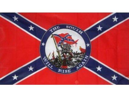 Vlajka Konfederace válečná 90x150cm č.80