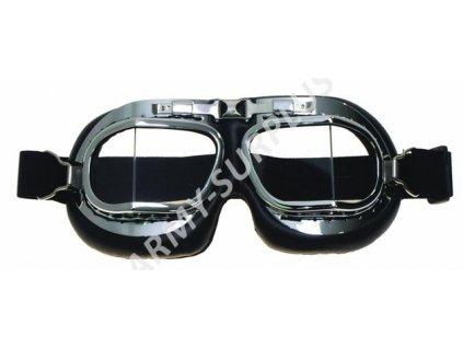 Brýle letecké RAF chrom MFH 25503