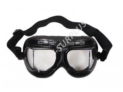 Brýle RAF letecké černé MFH 25513