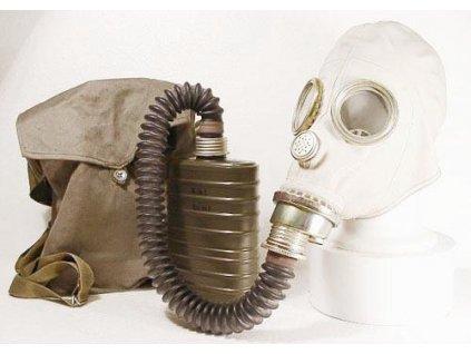 Plynová maska Polsko 1989 model 2 Faser MUA