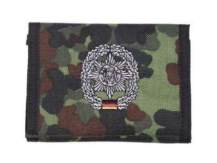 Peněženka s nášivkou FELDJÄGER flecktarn 30925E