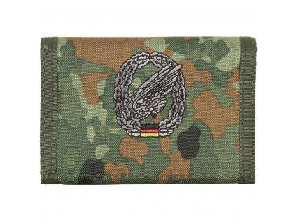 Peněženka s nášivkou FALLSCHIRMJÄGER flecktarn 30925P