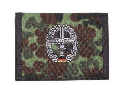 Peněženka s nášivkou FLIEGERTRUPPE flecktarn 30925R