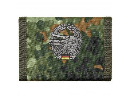 Peněženka s nášivkou PANZERTRUPPE flecktarn 30925T