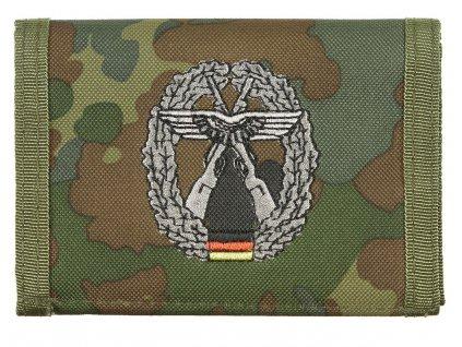 Peněženka s nášivkou OBJEKTSCHUTZ flecktarn 30925Z