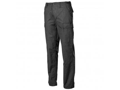 Kalhoty BDU černé ripstop MFH