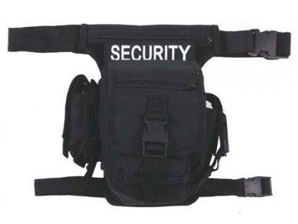 Taška security černá Hip Bag