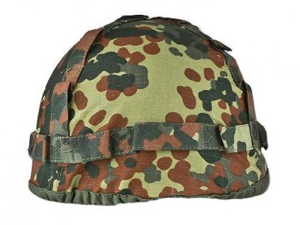 Potah (povlak,obal,převlek) na helmu BW (Bundeswehr) flecktarn MFH