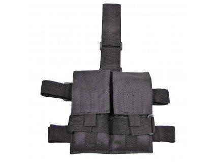 Sumka stehenní černá na 2 zásobníky 30743A MFH