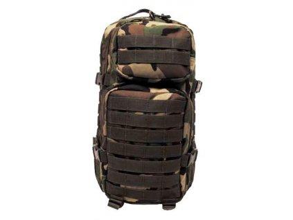 Batoh ASSAULT Pack US 20L molle MFH woodland