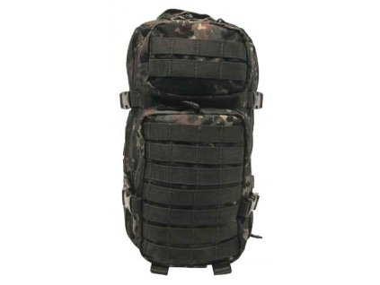 Batoh ASSAULT Pack US 20L molle flecktarn MFH