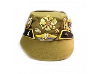 Čepice veteránská ruská s odznaky