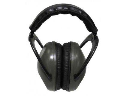 Chrániče sluchu Protection oliv sluchátka