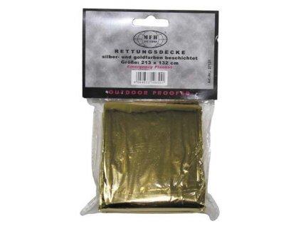 Izofolie zlatá/stříbrná (termofolie) MFH