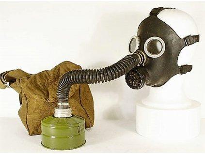 Plynová maska Rusko PDF-D černá dětská