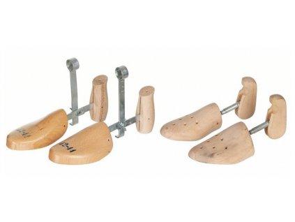 Napínák na obuv dřevo/kov