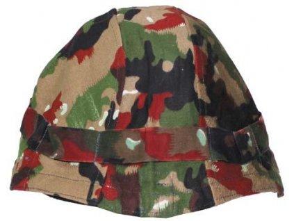 Potah (povlak,obal,převlek) na helmu Švýcarsko alpentarn