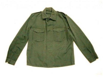 6569c99fdad Košile Velká Británie oliv dlouhý rukáv originál - ARMY-SURPLUS