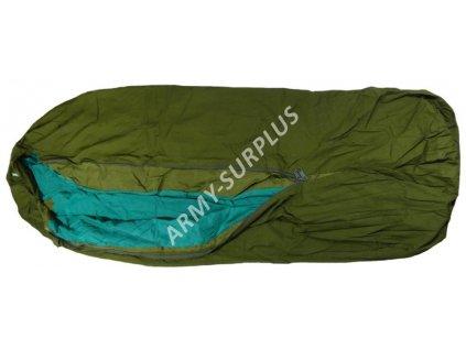 Povlak na spací pytel (spacák, žďárák, bivak)  Norsko M94 oliv bivy cover
