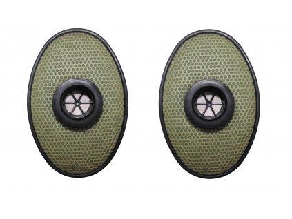 Lícnicový filtr pro plynové masky Rusko EO 19 - PBF originál 1pár