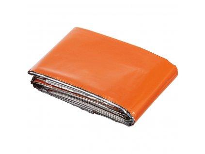 Izofólie (termofólie) oranžová / stříbrná MFH