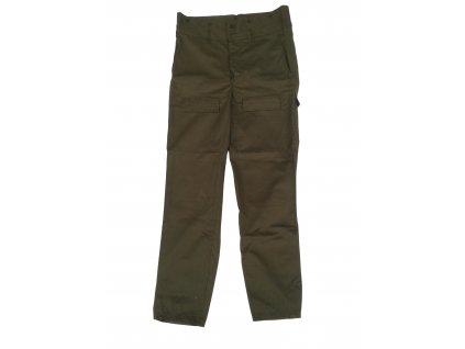 Kalhoty M85 ČSLA vz.85 zelené oliv originál