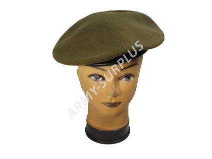 Baret britský vlněný Guards Divisions Velká Británie khaki zánovní originál
