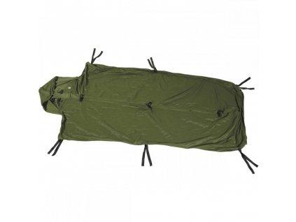 Hygienická vložka do (spacáku) spacího pytle Velká Británie oliv polyester originál