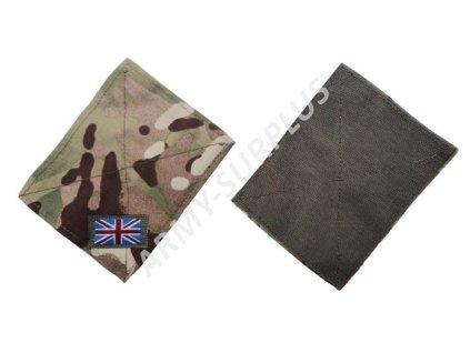 Krytky velcro panelů britské MTP Velká Británie
