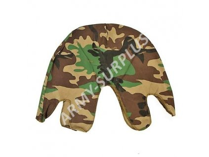 Potah US woodland (povlak,obal,převlek) na helmu M1 originál