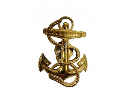 Odznak námořní US NAVY kotva zlatá