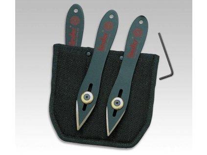 Nože vrhací (házecí) sada Linder 427315