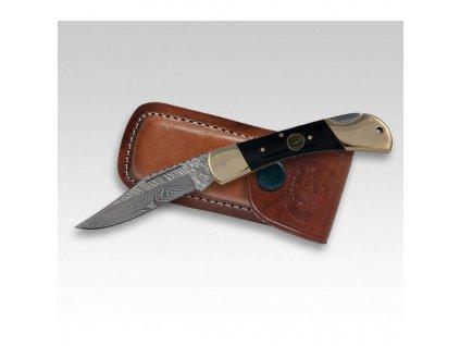 Nůž zavírací Croco Damascus 8 č.333011