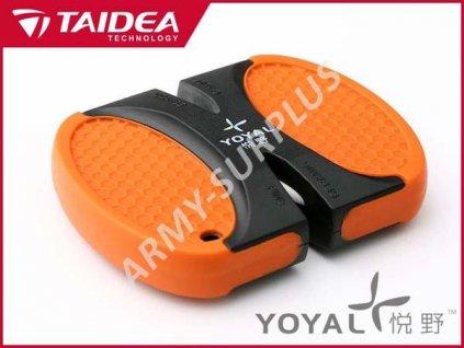 Brousek na nože oboustranný TAIDEA YOYAL 401324 oranž