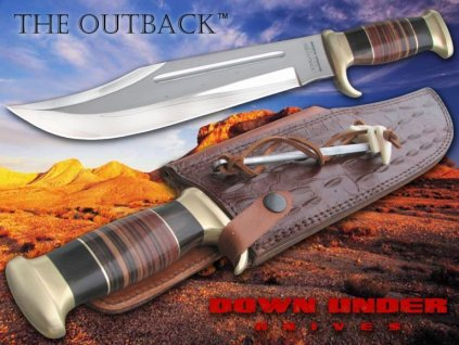 Legendární nůž The Outback (Krokodýl Dundee) Linder Bowie Down Under 446128