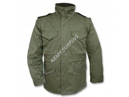 Polní kabát, bunda (parka) M65 s vložkou oliv 10315001