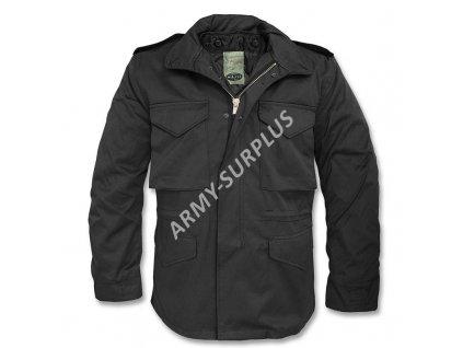 Polní kabát, bunda (parka) M65 s vložkou černá