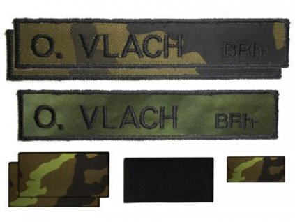 Vojenské jmenovky  - Vojenská sada AČR B-20