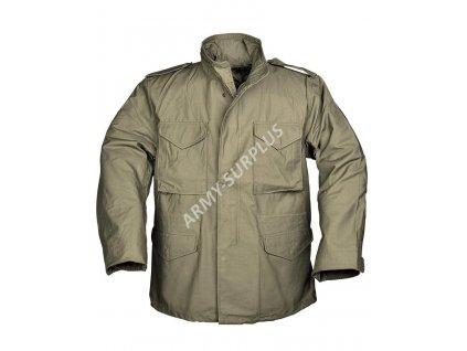 Polní kabát,bunda (parka) M65 oliv Teesar