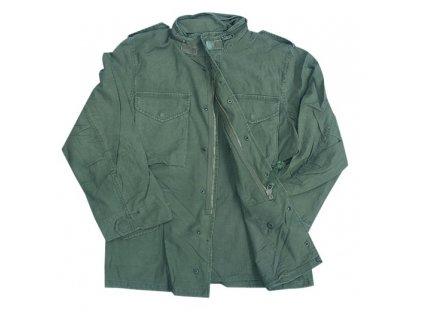 Polní kabát, bunda US (parka) M65 oliv předepraná MMB