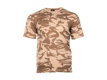 Tričko (triko) britské Velká Británie desert DPM Miltec