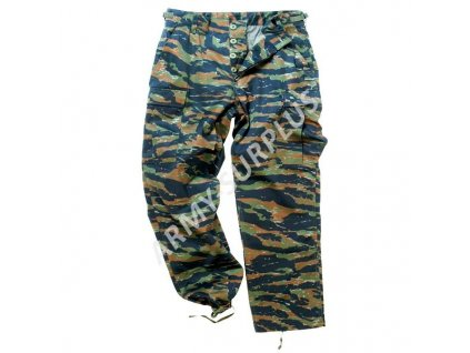 Kalhoty BDU Tiger Miltec
