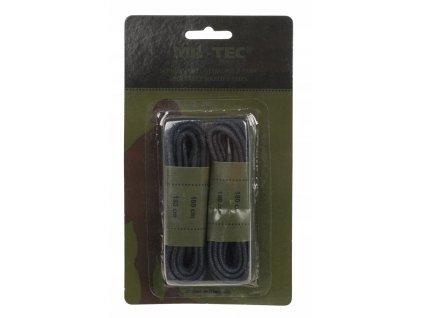 Tkaničky do bot černé kulaté 180cm