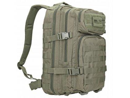 batoh-assault-pack-us-20l-molle-oliv-maly-miltec